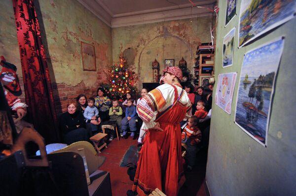 Святочное представление в частной квартире в Москве