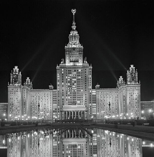 Здание МГУ на Воробьевых горах