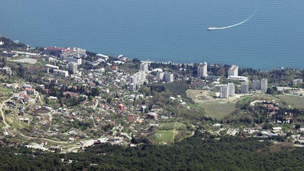 Город Алупка в Крыму