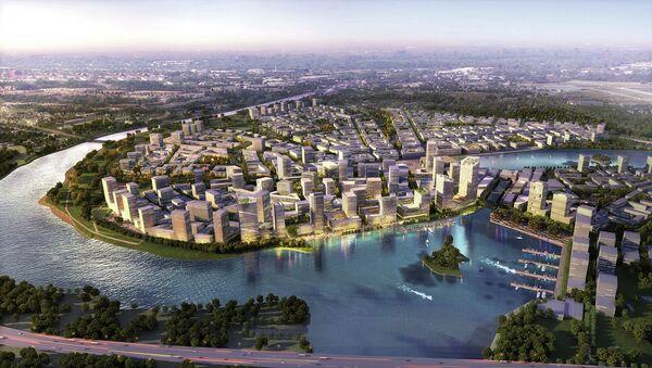 Рублево-Архангельское - Архитектурно-градостроительная концепция  МФЦ от TEAM MOSCOW - ASTOC HPP