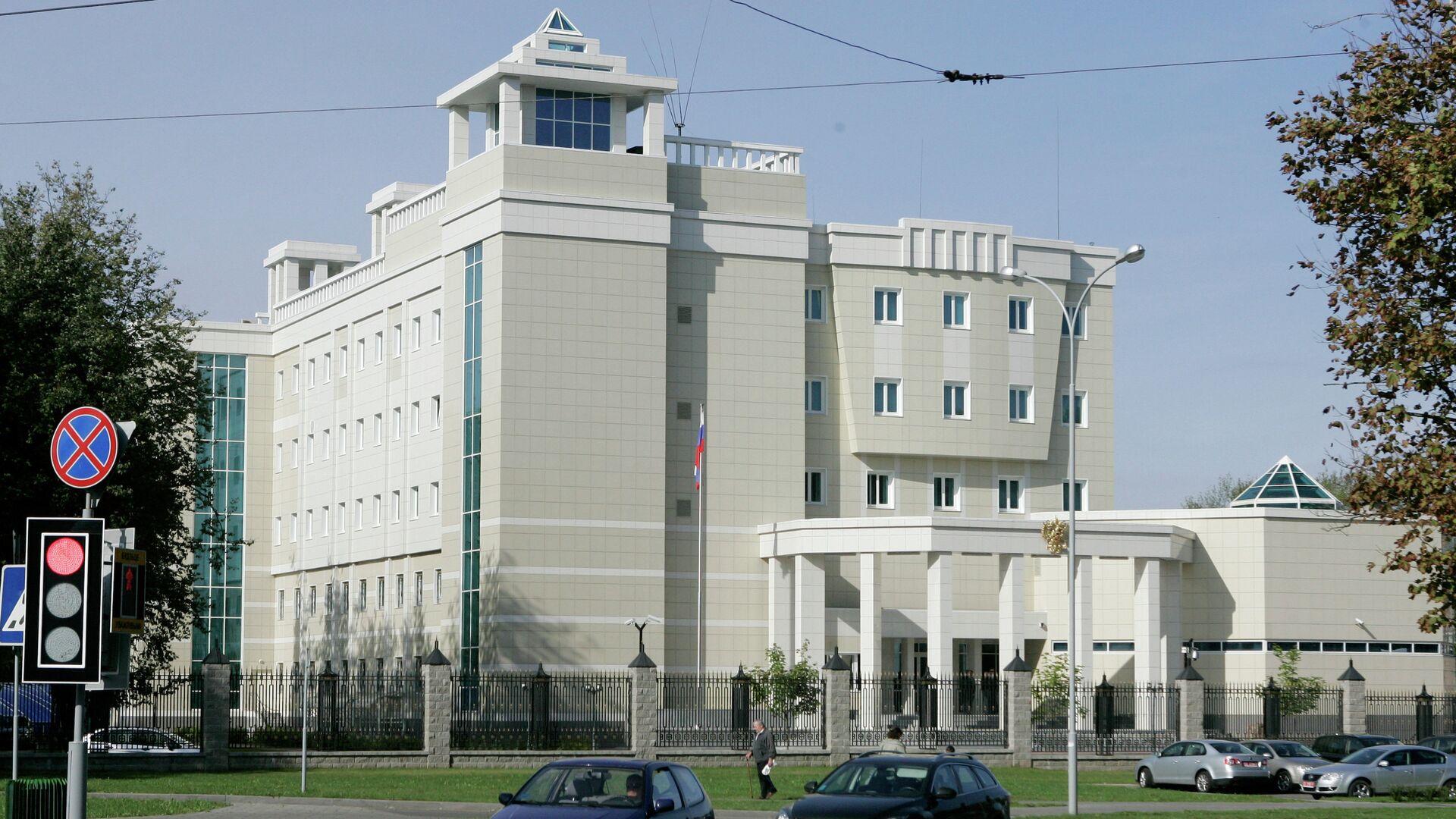 В посольство России в Минске - РИА Новости, 1920, 10.06.2021