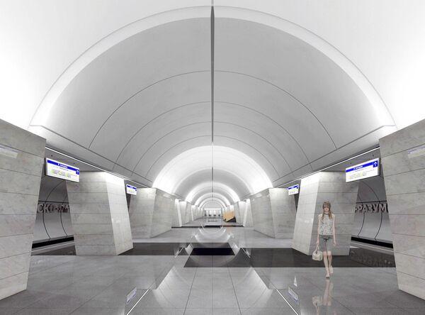 Проект станции метро Петровско-Разумовская