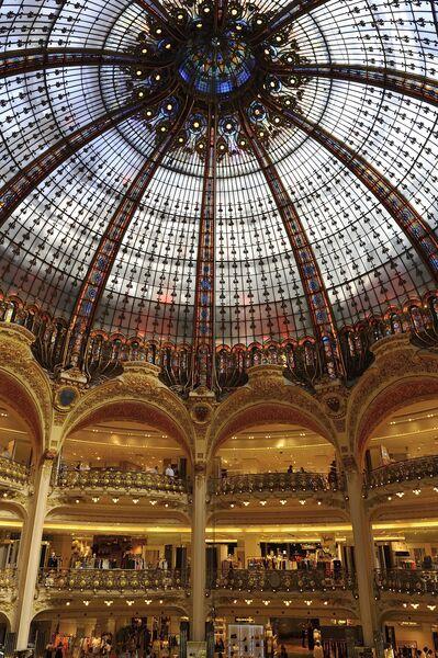 Galeries Lafayette (внутри)