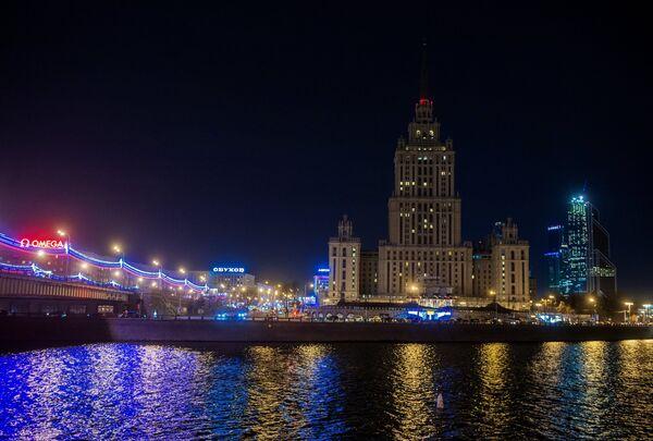 Вид на гостиницу Radisson Royal Moscow