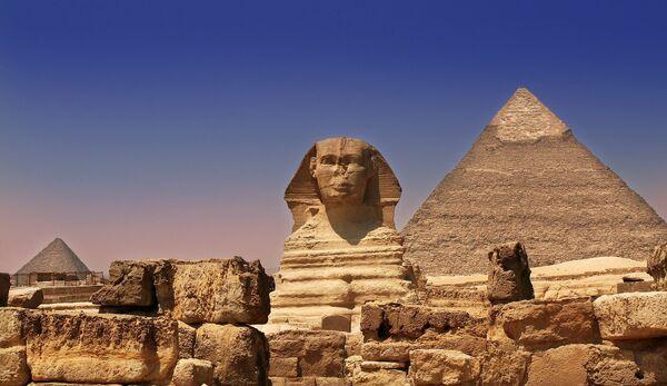 Пирамиды Гизы