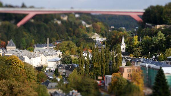 Вид на Люксембург. Архивное фото