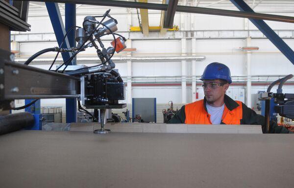Работа производственного комплекса компании Металл-Дон