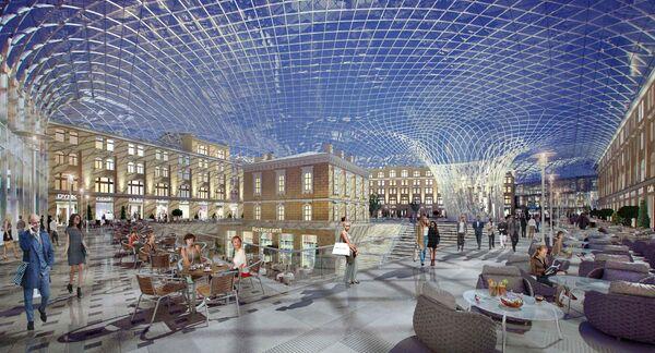 Проект развития Большого Гостиного Двора
