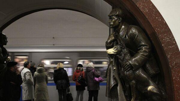 На станции московского метрополитена Площадь Революции