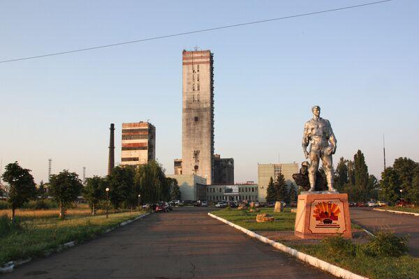 Взрыв на шахте Суходольск-Восточная в Луганской области