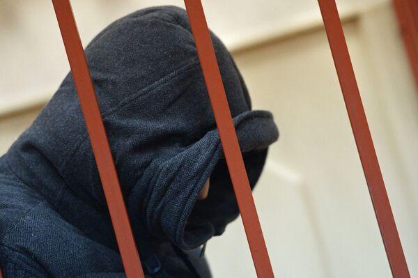 Губернатор Сахалинской области А.Хорошавин на заседании в Басманном суде