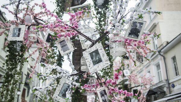 Подготовка к открытию фестиваля Московская весна. Архивное фото