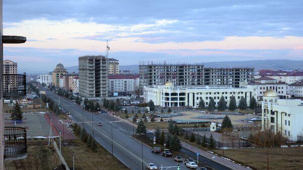 Города России. Магас