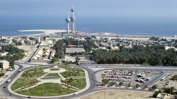 Вид на город Эль-Кувейт