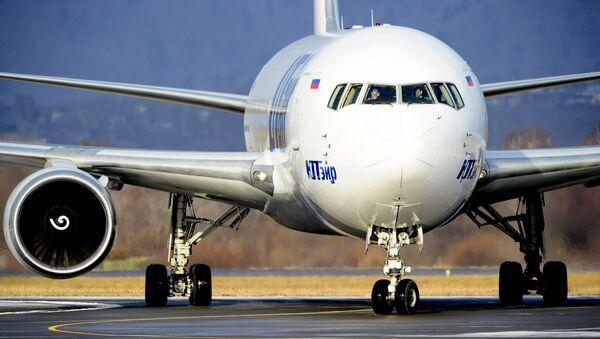 Рейс авиакомпании Utair. Архивное фото