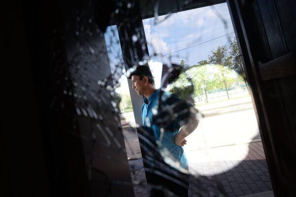 Снос незаконных построек у станции метро Теплый стан