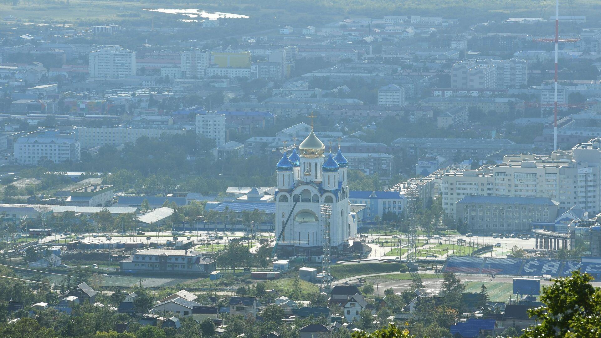 В Южно-Сахалинске строители нашли подозрительный предмет