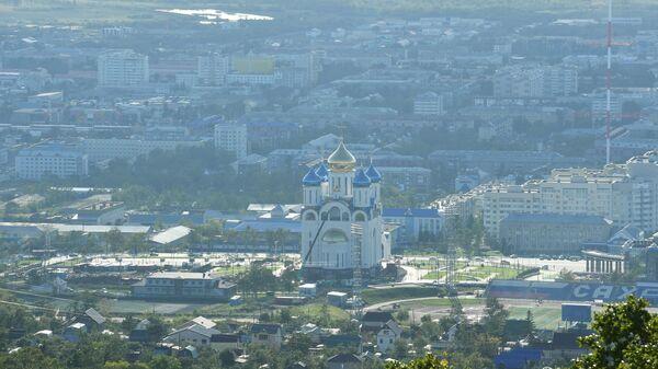Города России. Южно-Сахалинск