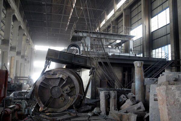 Доменный цех завода Qinghe Special Steel Corporation, Китай, после аварии