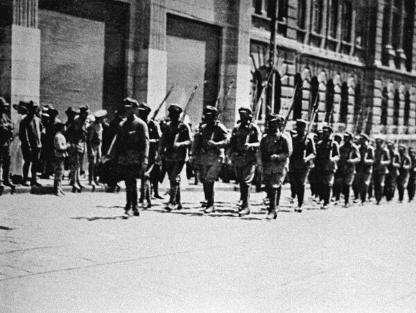 Чехословацкие войска во Владивостоке