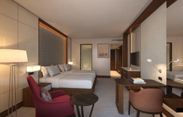 В гостях хорошо: в чем уникальность отеля Hyatt Regency возле стадиона Динамо