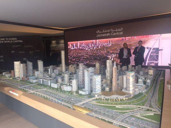 Павильон Дубая в Каннах