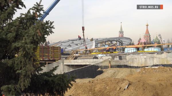 Прогулки по крыше: какой будет филармония парка Зарядье