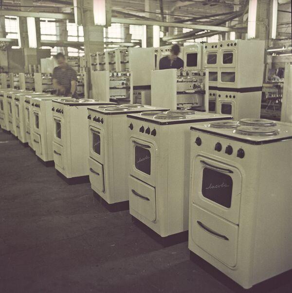 Лысьвенский металлургический завод (ЛМЗ). Производство бытовых газовых, электрических плит Лысьва