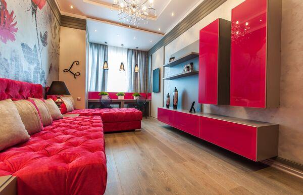 Дерзкий и нежный: варианты оформления интерьера в розовом цвете
