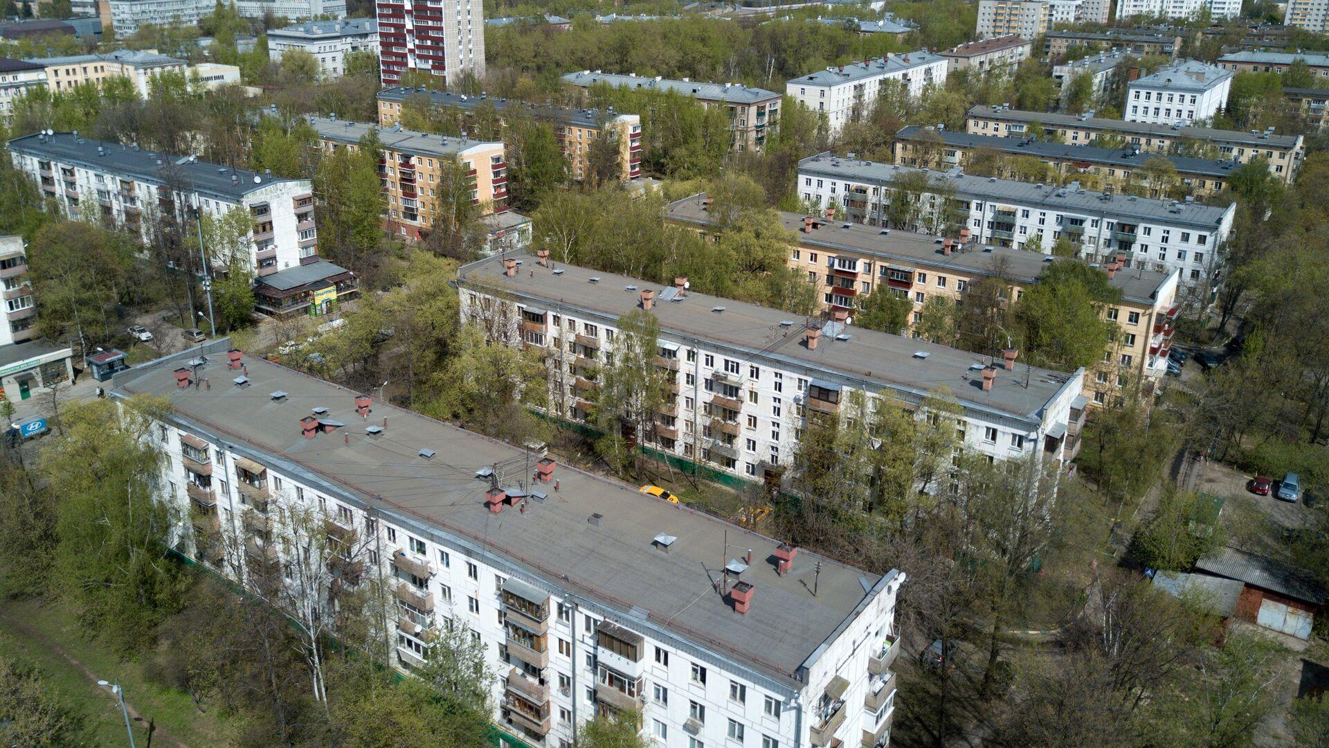 Пятиэтажные дома, включенные в программу реновации в Москве - РИА Новости, 1920, 02.12.2020