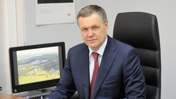 Руководитель департамента по развитию территорий новой Москвы Владимир Жидкин
