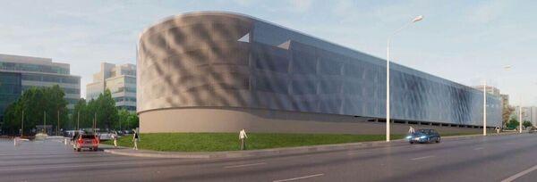 Архитектурно-градостроительное решение проекта  многофункционального гаражного комплекса с автомойками и ремонтными мастерскими в Крылатском