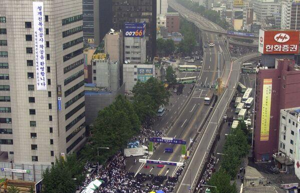 Cheonggyecheon до реконструкции