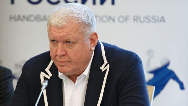 Главный тренер сборной России Евгений Трефилов