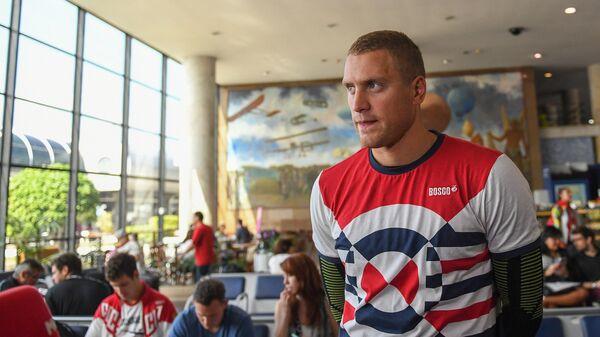 Спортсмен олимпийской сборной России по плаванию Андрей Гречин