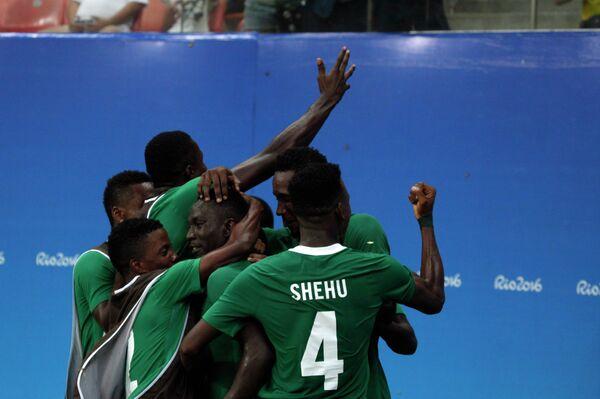 Футболисты олимпийской сборной Нигерии