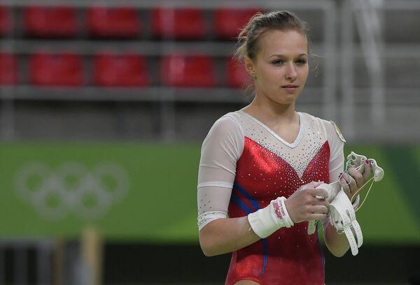 Спортсменка олимпийской сборной России по спортивной гимнастике Дарья Спиридонова