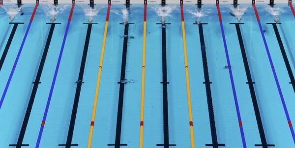 400 метров вольным стилем. Женщины.