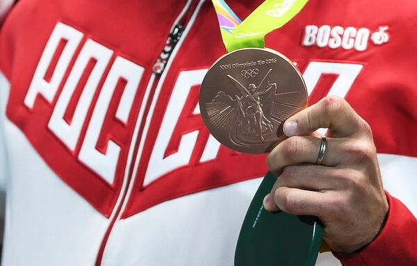 Бронзовая медаль Тимура Сафина