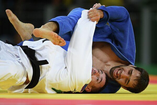 Серджиу Тома и Хасан Халмурзаев (слева направо)
