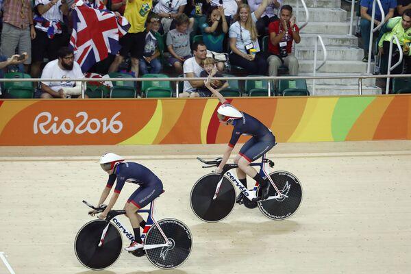 Британские велогонщицы