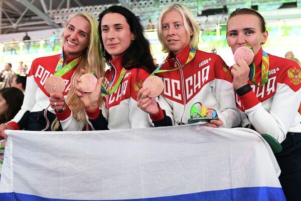 Женская сборная России по фехтованию на шпагах