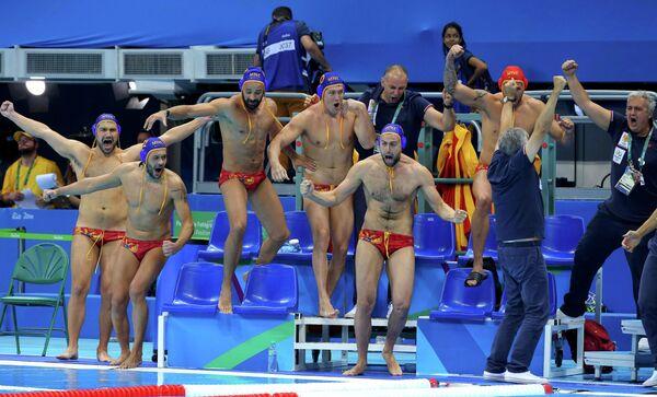Ватерполисты сборной Черногории