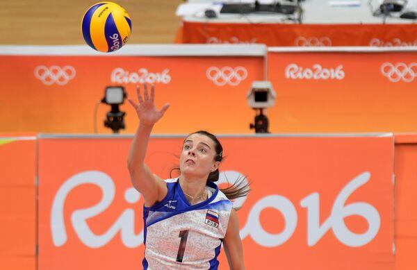 Доигровщица сборной России Яна Щербань