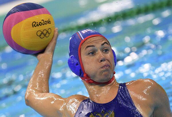 Игрок женской сборной России по водному поло Екатерина Лисунова
