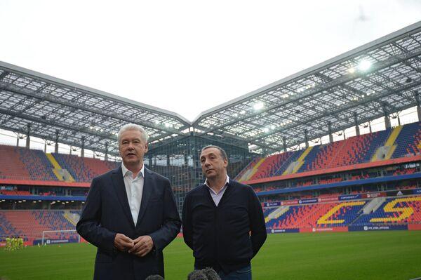 Сергей Собянин (слева) и Евгений Гинер