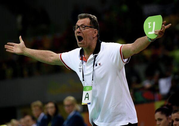 Главный тренер сборной Франции Оливер Крумбхольц