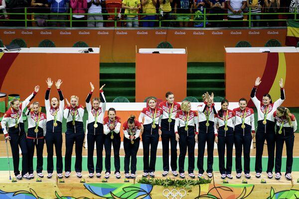 Гандболистки сборной России