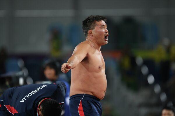 Тренер сборной Монголии по вольной борьбе Цогтбаяр Церенбатар