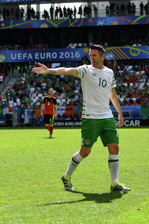 Нападающий сборной Ирландии Робби Кин